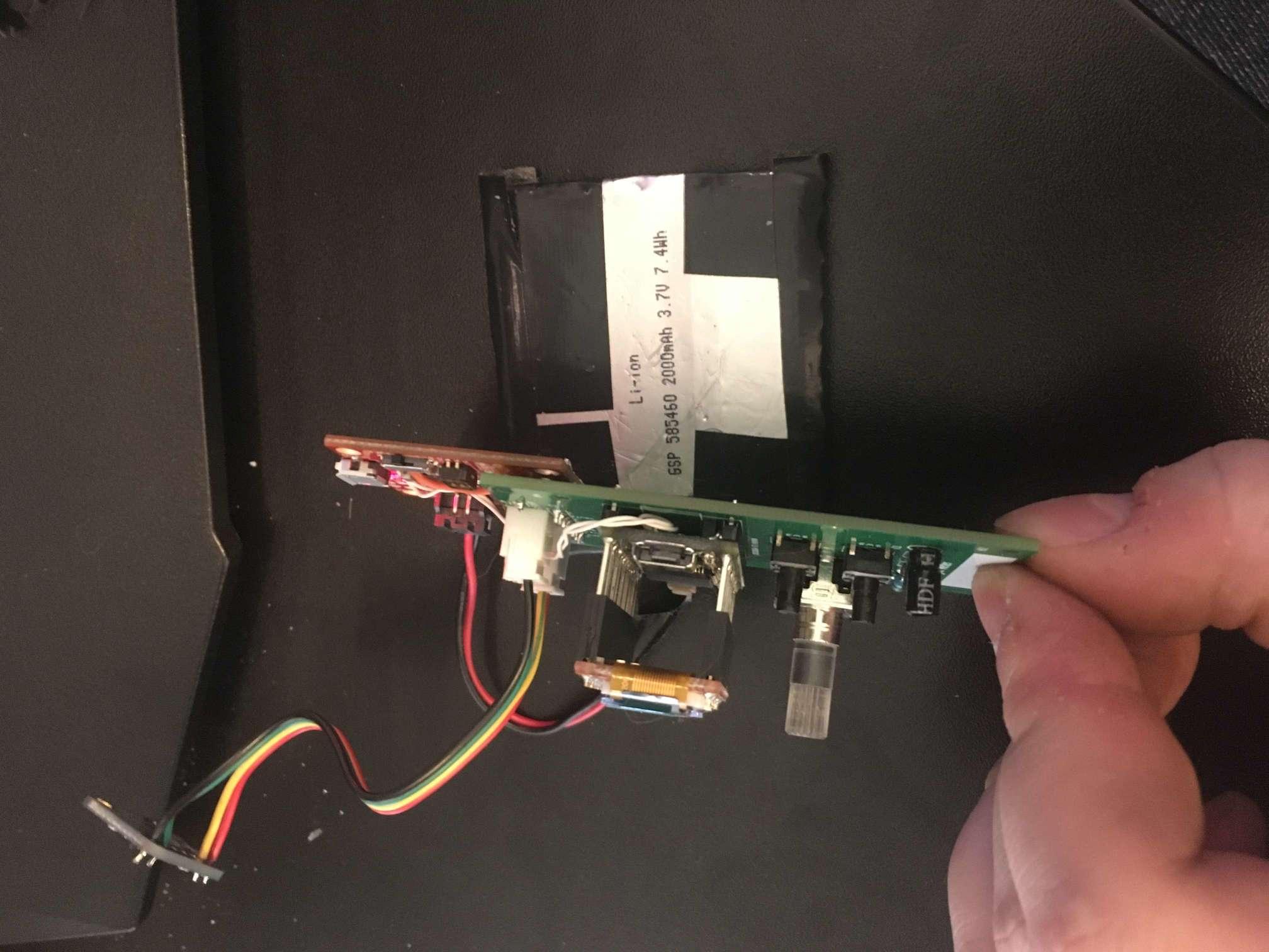 light-meter pcb side